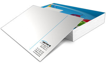 Kuverter Med Tryk Top Kvalitet Lasertryk As
